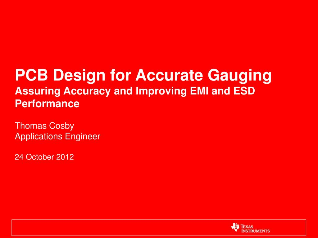 Ppt Pcb Design For Accurate Gauging Assuring Accuracy And Circuit Board Powerpoint Templates Slide1 N Download Skip This Video Loading Slideshow In 5 Seconds