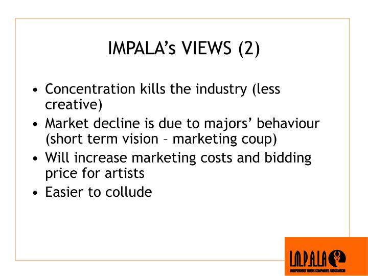 IMPALA's VIEWS (2)