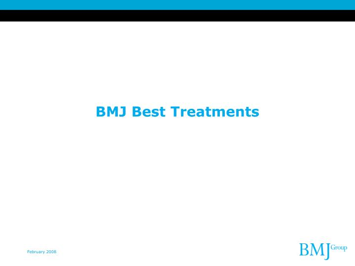 BMJ Best Treatments