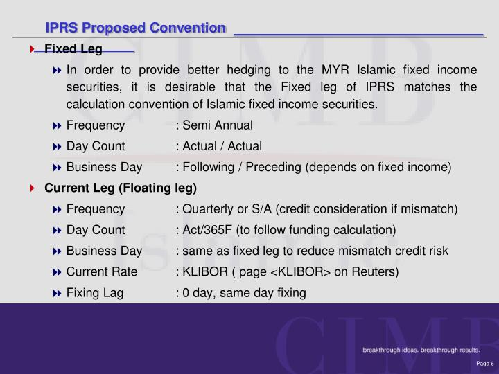 IPRS Proposed Convention