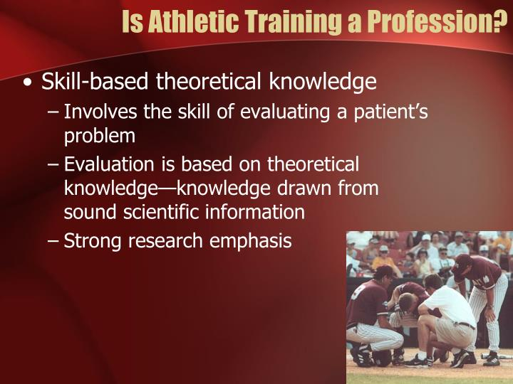 Is athletic training a profession