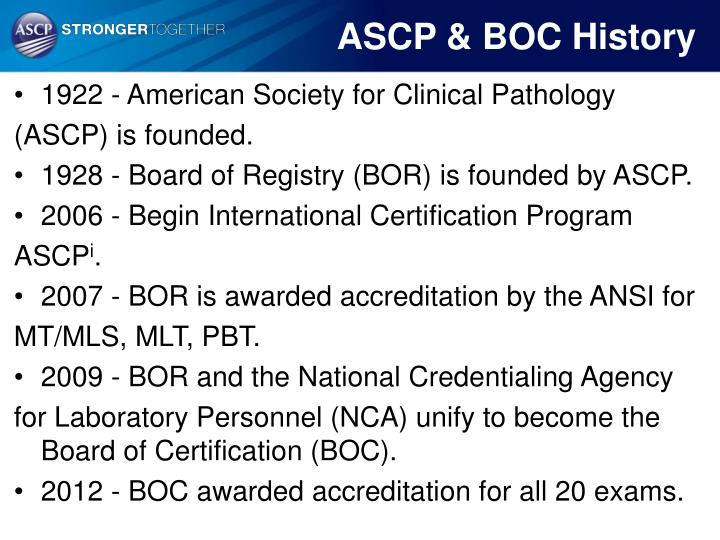 PPT - American Society for Clinical Pathology International ...