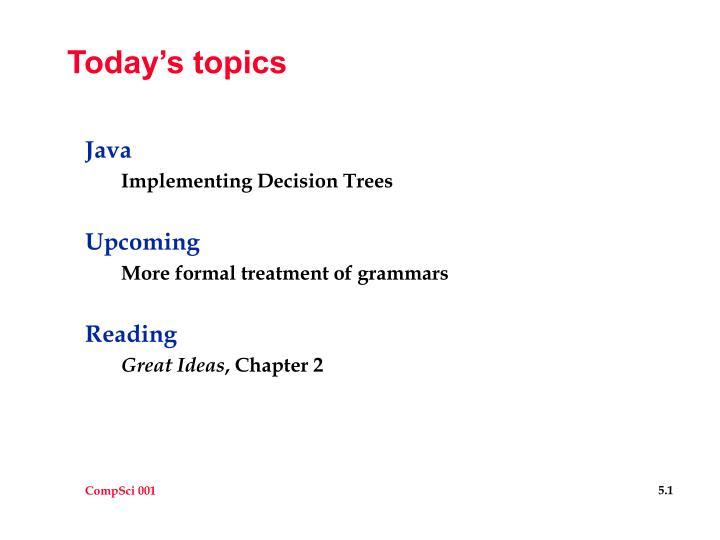 today s topics n.