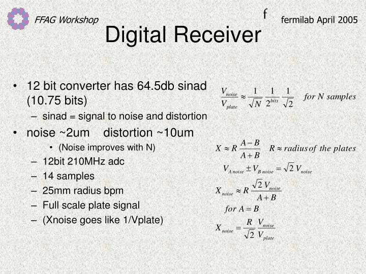Digital Receiver