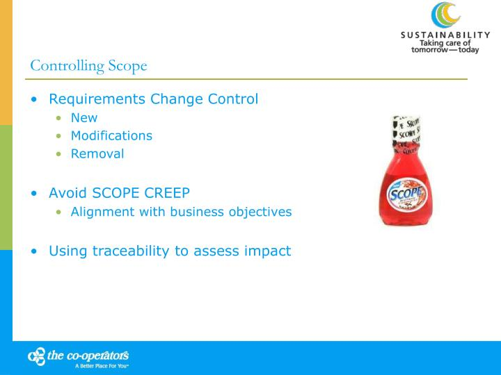 Controlling Scope