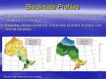 bioclimate profiles