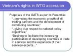 vietnam s rights in wto accession