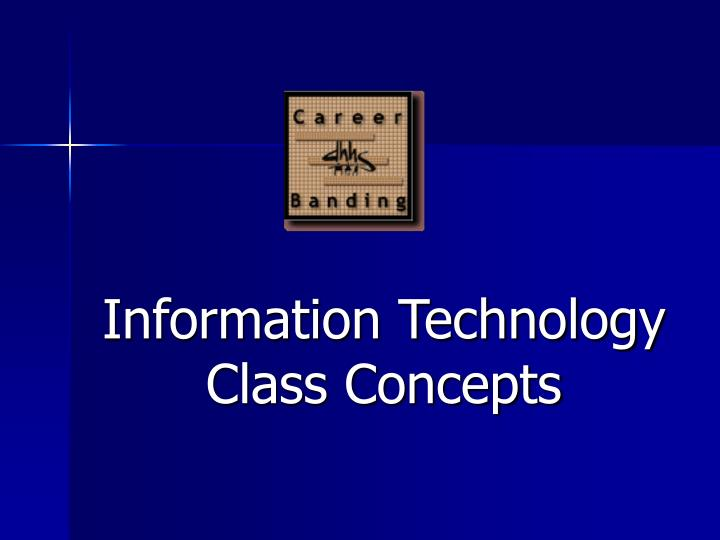 information technology class concepts n.