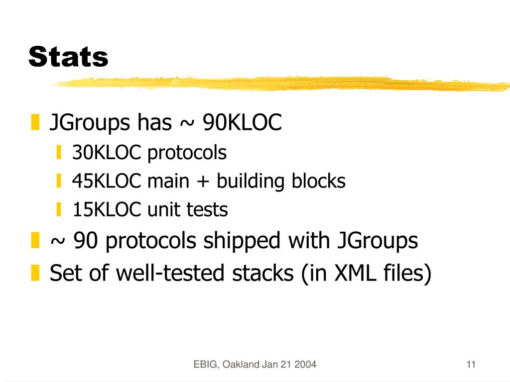 PPT - Reliable Multicasting with JGroups PowerPoint