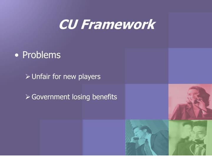 CU Framework