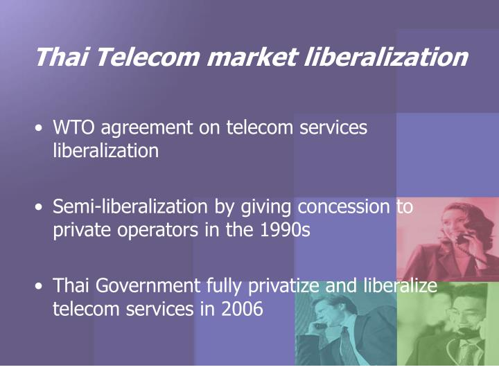 Thai telecom market liberalization