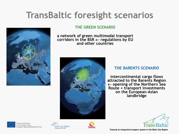 TransBaltic foresight scenarios