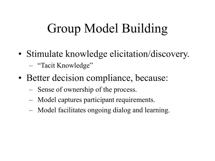 Group Model Building