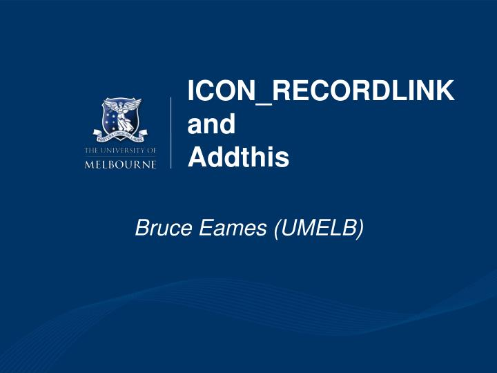 icon recordlink and addthis n.