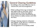 general cleaning guidelines1