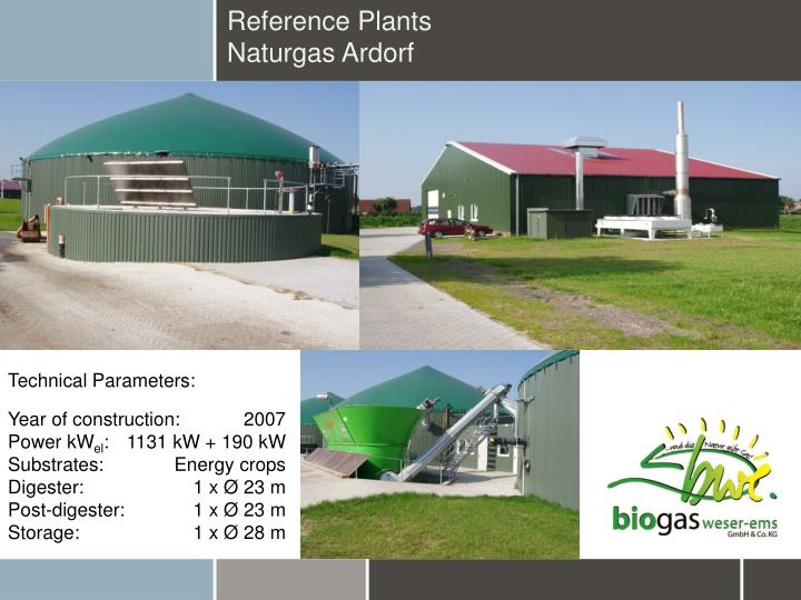 Reference Plants