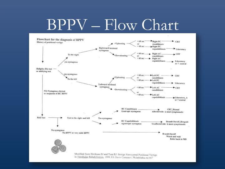 BPPV – Flow Chart
