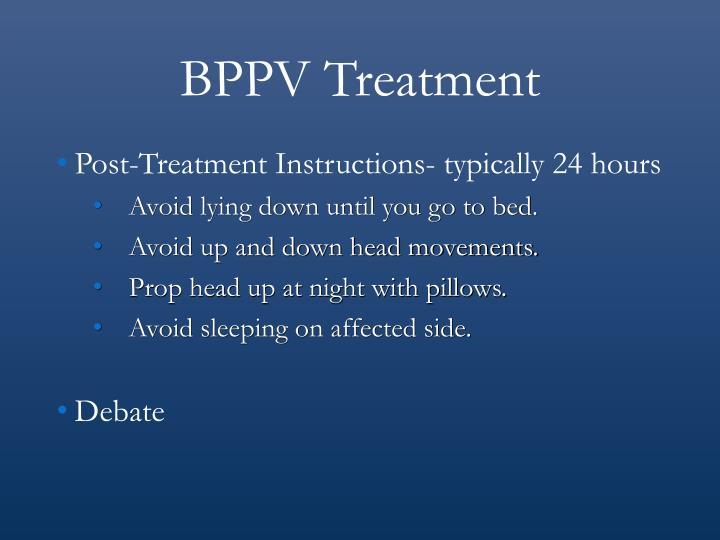 BPPV Treatment