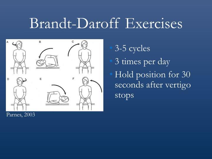 Brandt-Daroff Exercises