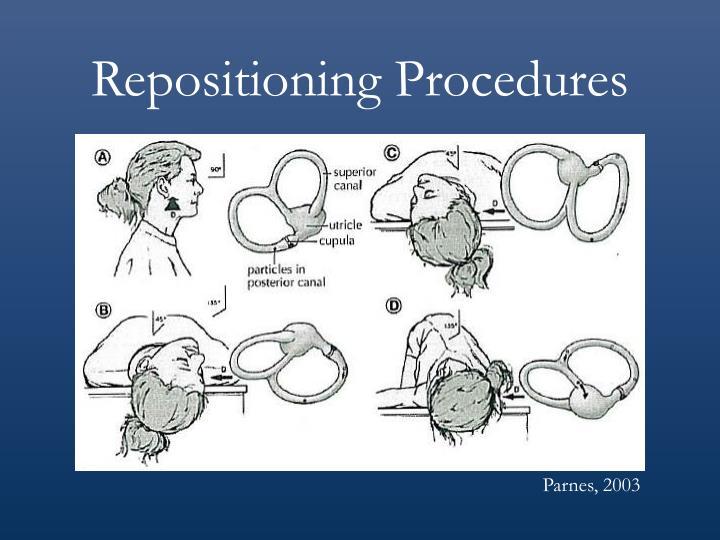 Repositioning Procedures