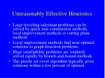 unreasonably effective heuristics