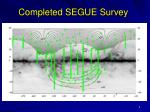 completed segue survey