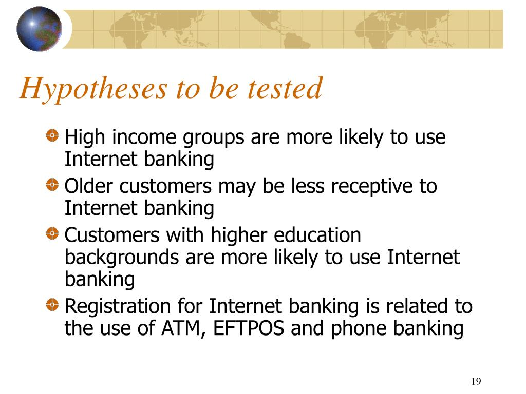 PPT - An Evaluation of Internet Banking in New Zealand