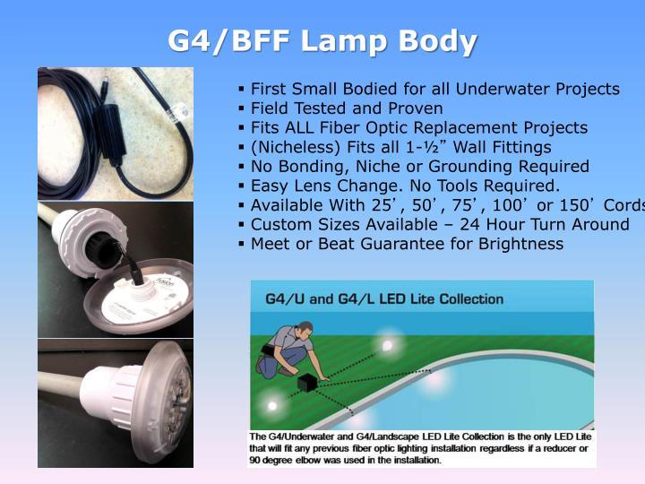 G4/BFF Lamp Body