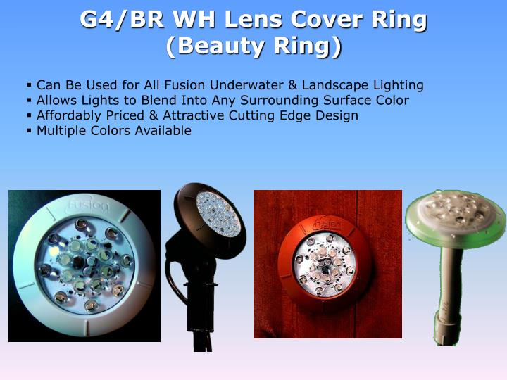 G4/BR WH Lens Cover Ring