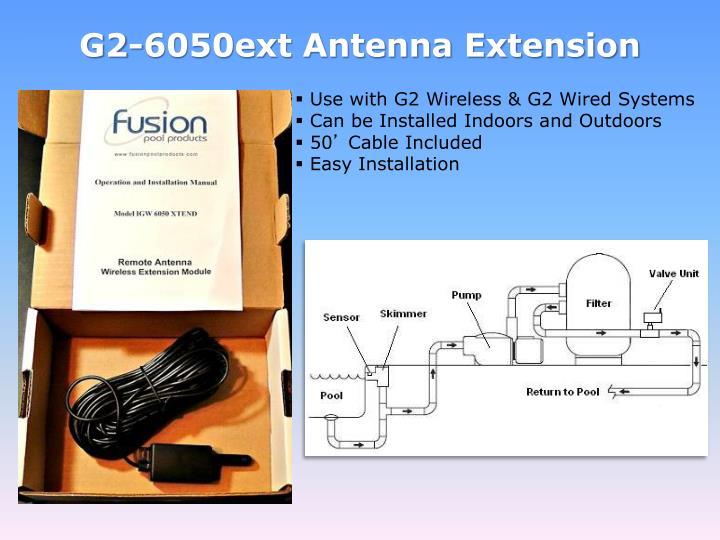 G2-6050ext Antenna Extension