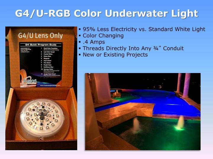 G4/U-RGB Color Underwater Light