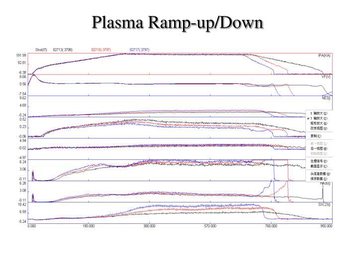 Plasma Ramp-up/Down