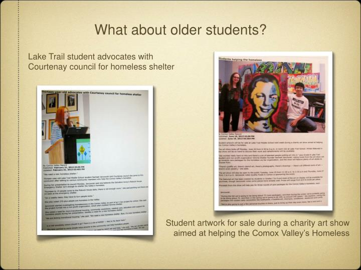 What about older students?