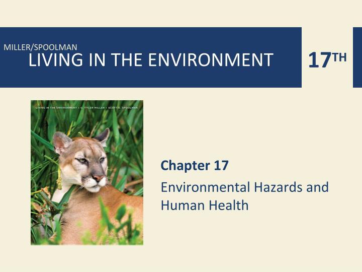 chapter 17 environmental hazards and human health n.