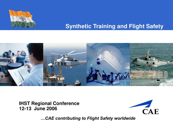 synthetic training and flight safety n.