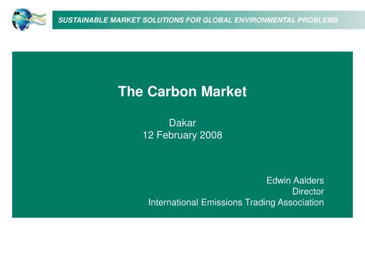 The Carbon Market