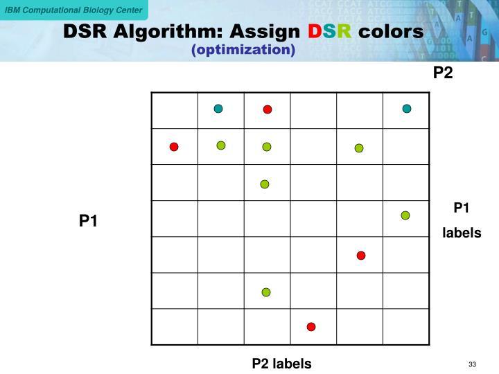 DSR Algorithm: Assign