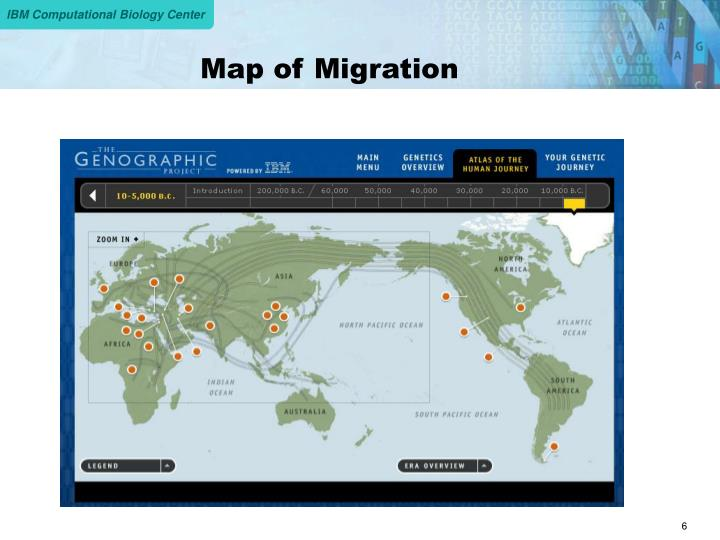 Map of Migration