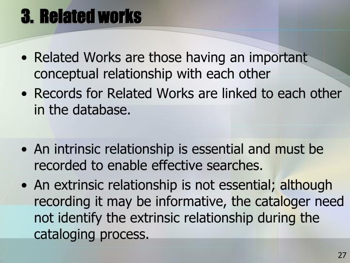 3.  Related works