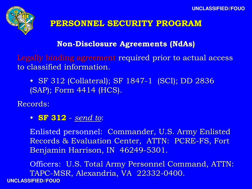 Ppt Personnel Security Program Powerpoint Presentation