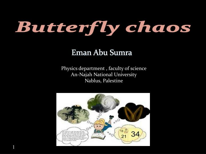 butterfly chaos n.