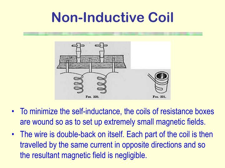 Non-Inductive Coil