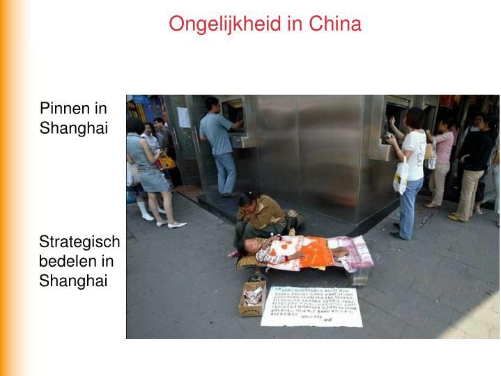 Ongelijkheid in China
