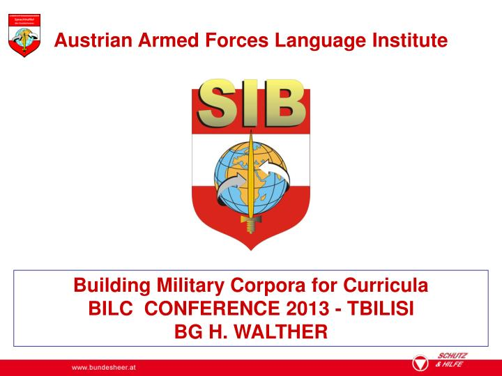 Austrian Armed Forces Language Institute