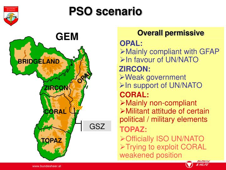 PSO scenario