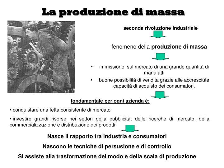 La produzione di massa