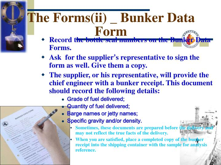 The Forms(ii) _ Bunker Data Form