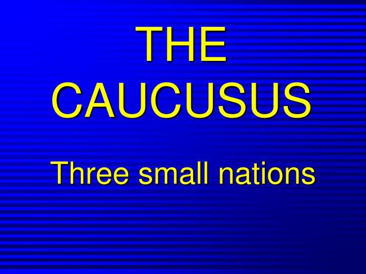 the caucusus