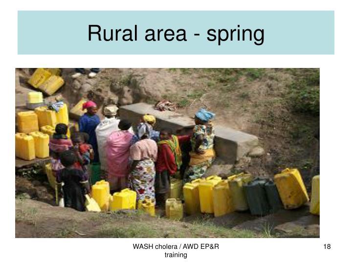 Rural area - spring