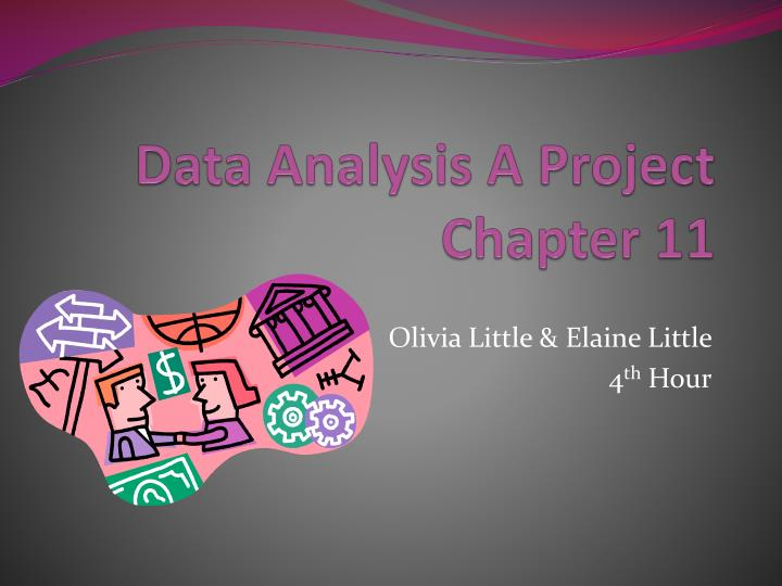 data analysis a project chapter 11 n.